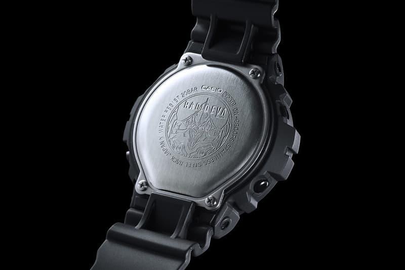 《新世紀福音戰士 Evangelion》x Casio G-Shock DW-6900 腕錶