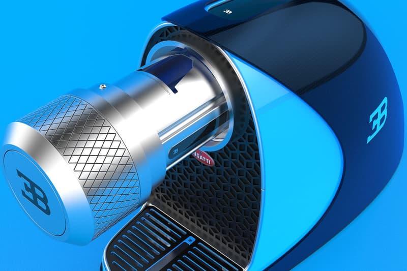 Fábio Martins 打造 Bugatti Chiron x Nespresso 聯乘主題咖啡機