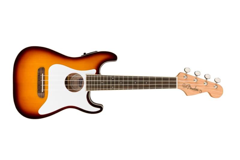 Fender 推出品牌經典造型電子 Fullerton Ukulele