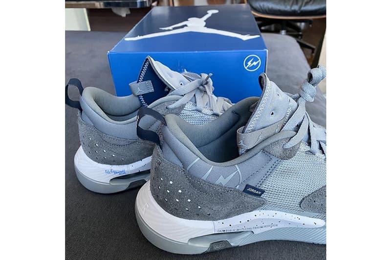 藤原浩再次曝光全新 fragment design x Jordan Brand 神秘聯名鞋款