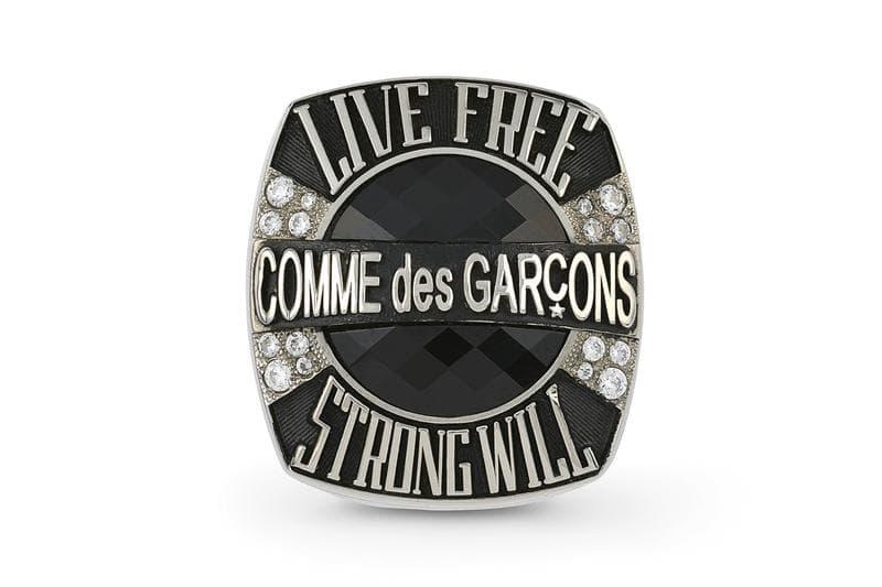 COMME des GARÇONS 人氣冠軍指環系列迎來補貨