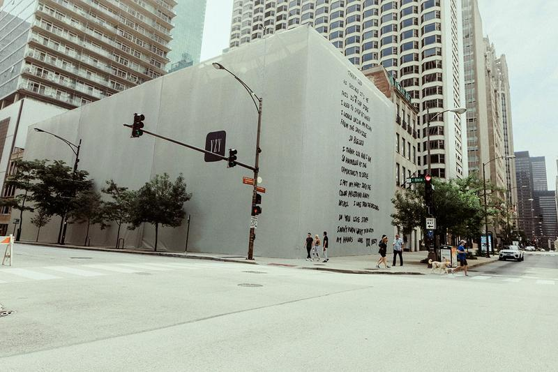 Kanye West 重新設計芝加哥 GAP 門面