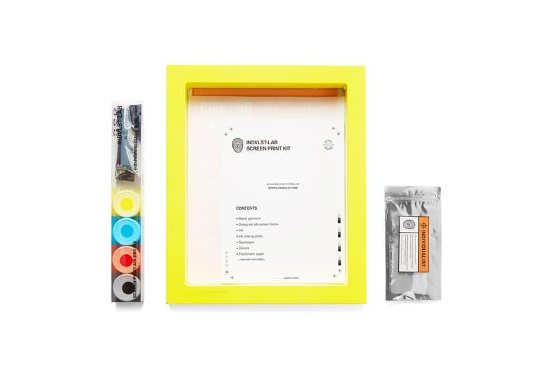 Chinatown Market 攜手 INDVLST LAB 推出絲網印刷自製工具組合