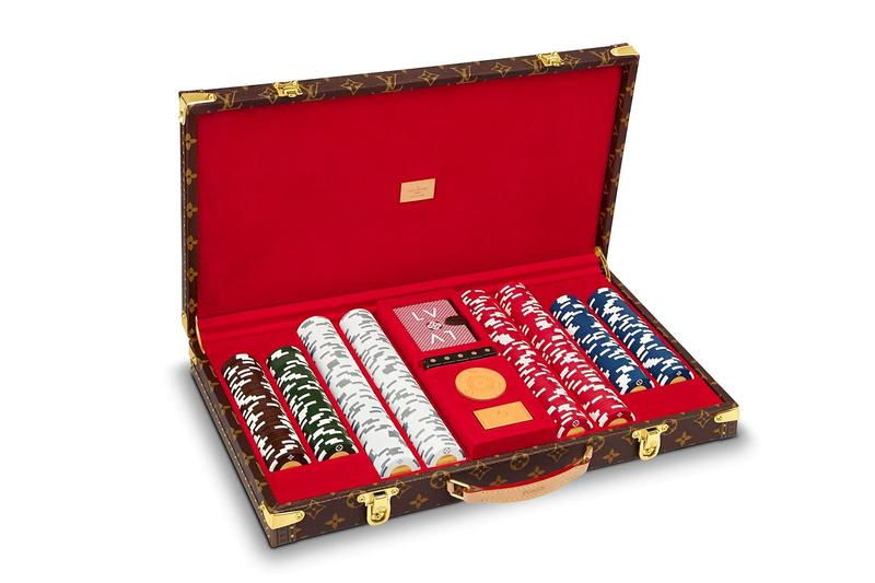 Louis Vuitton 推出奢華 Monogram 樣式 Poker 套裝