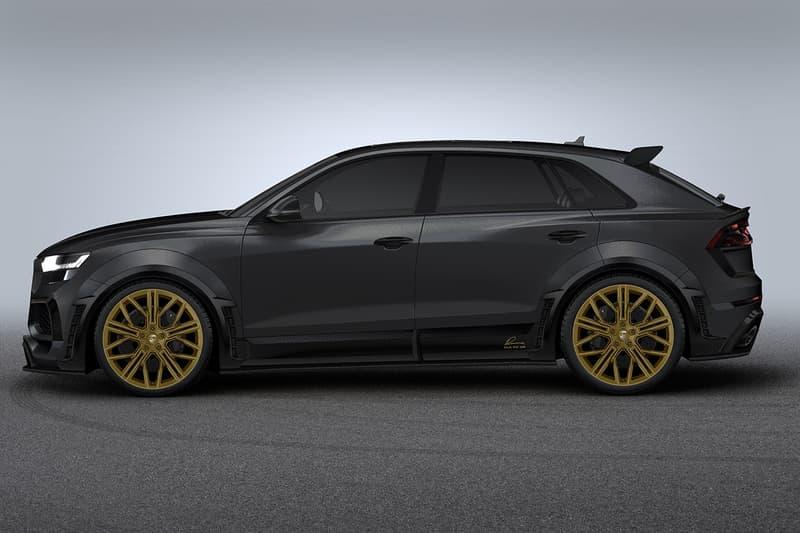 LUMMA Disign 打造 700 匹制動馬力 Audi RSQ8 改裝車型