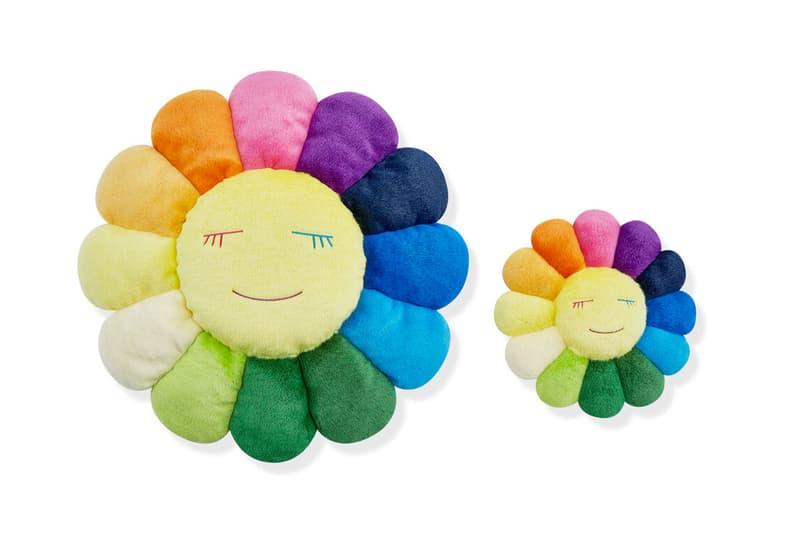 村上隆 Kaikai Kiki Flower 毛絨抱枕於 MoMa Design Store 重新上架