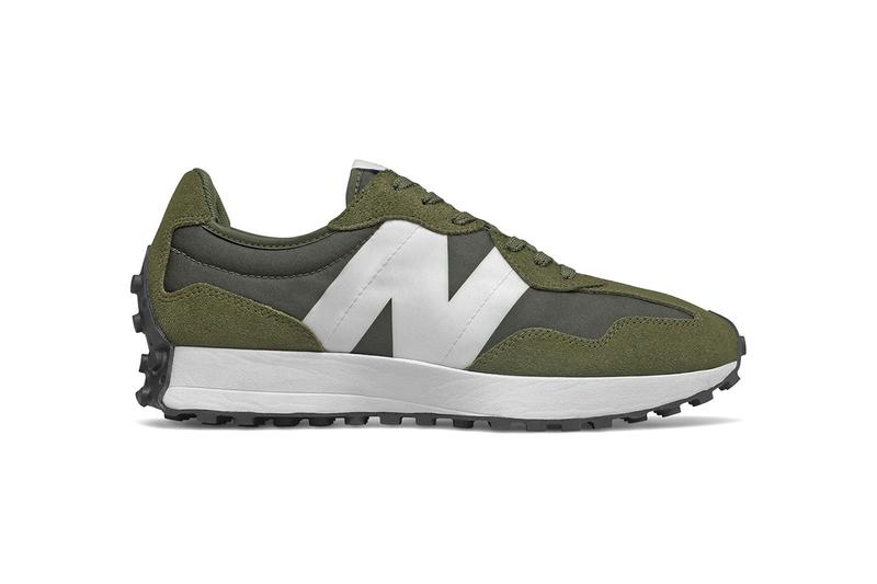 New Balance 327 全新橄欖綠配色發佈