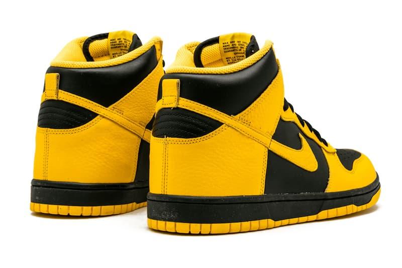 消息稱 Nike Dunk High 經典配色「Black Varsity Maize」即將復刻推出