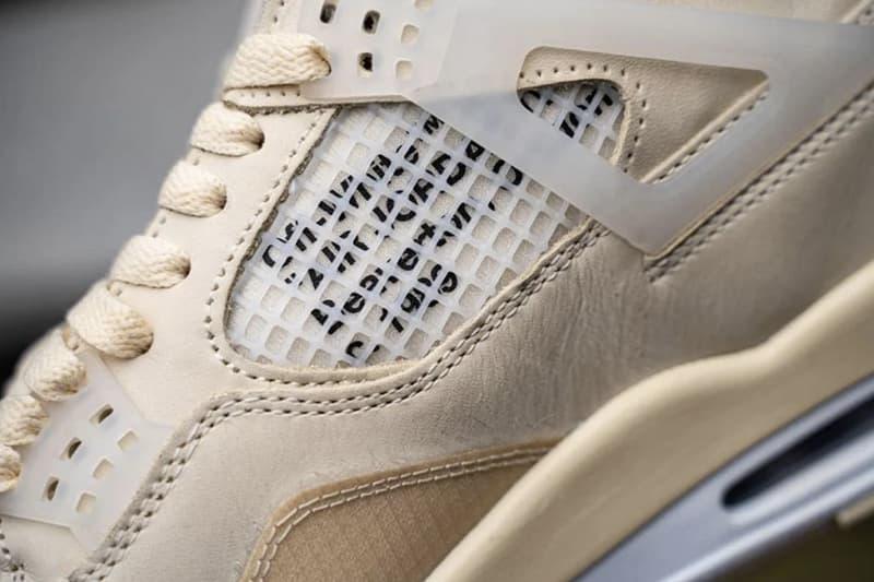 率先近賞 Off-White™ x Air Jordan 4 最新聯名鞋款上腳圖輯
