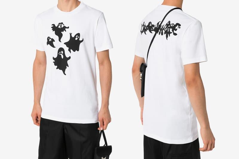 Off-White™ 推出全新幽靈鬼影圖案 T-Shirt