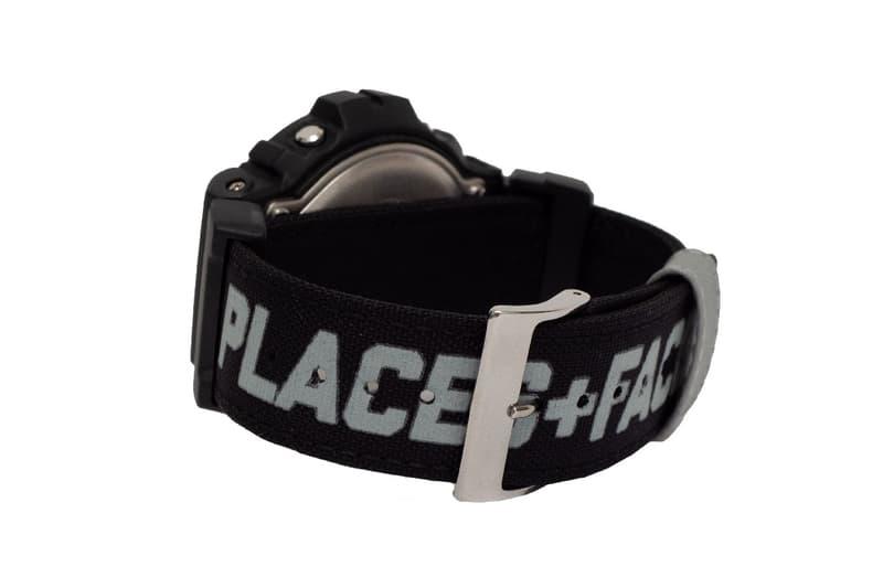 Places+Faces x G-Shock 全新聯乘 DW-6900 腕錶發佈