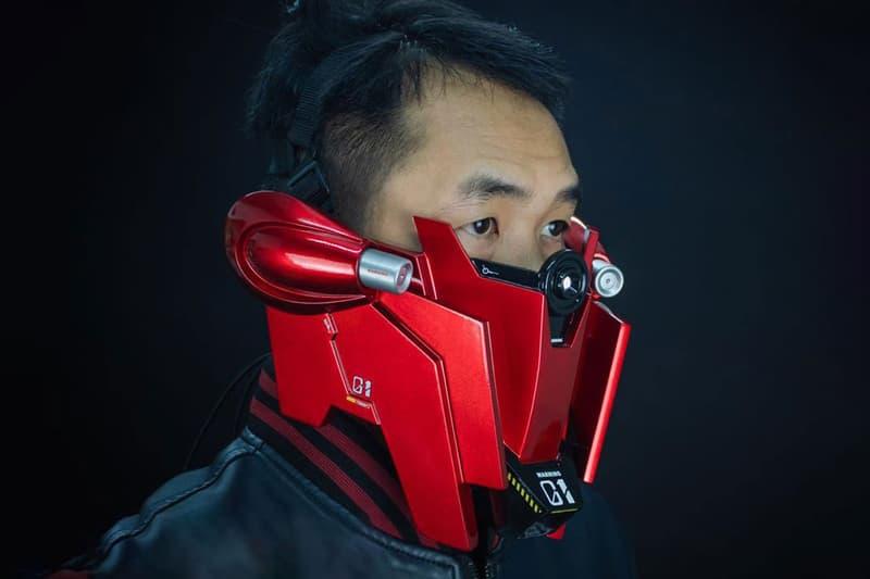 泰國設計師 Poot Padee打造別注《機動戰士高达 GUNDAM》造型面罩