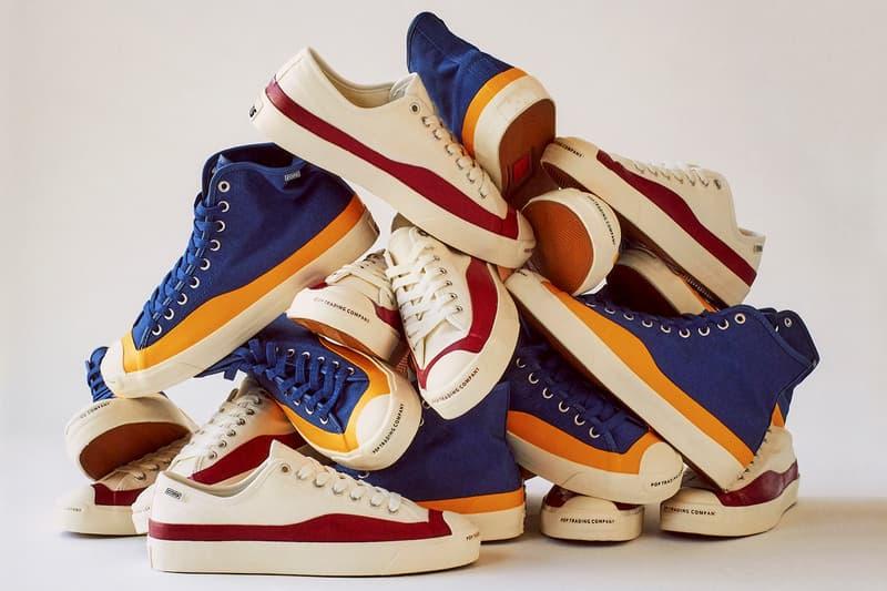 Converse CONS 聯乘 Pop Trading Company 推出別注 Jack Purcell 鞋款系列