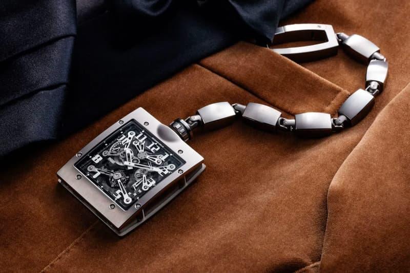Richard Mille 推出全新 RM 020 陀飛輪懷錶