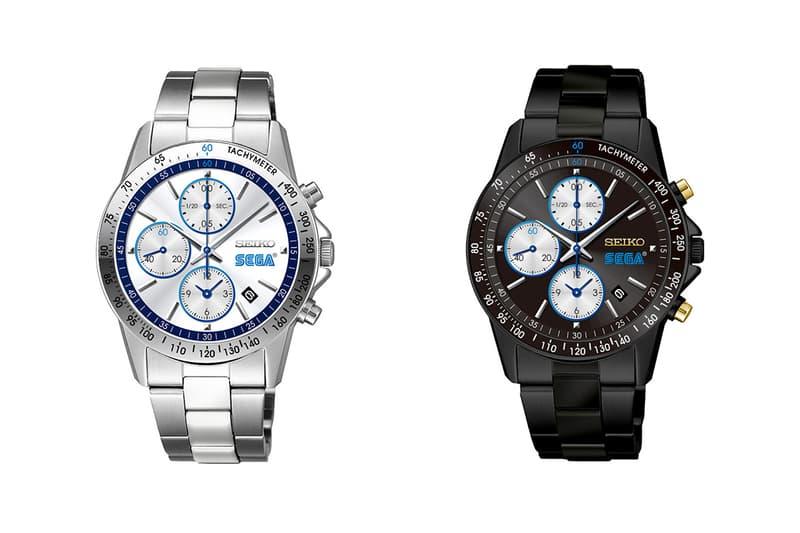 SEGA x Seiko 全新聯乘腕錶發佈