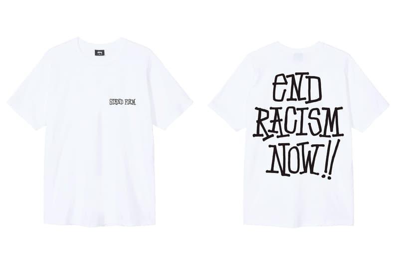 Stüssy 推出反種族主義別注系列 T-Shirt