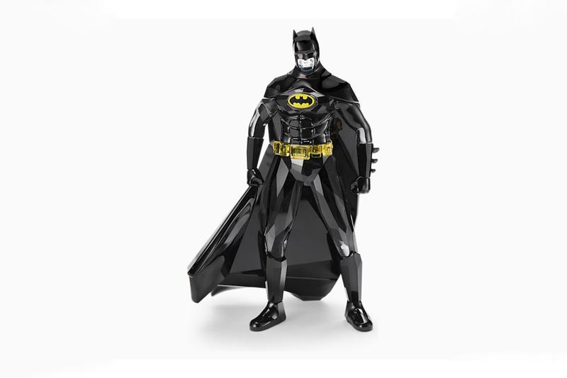 Swarovski 打造真正黑色水晶切割 Batmobile