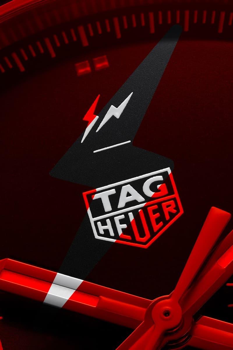 fragment design x TAG Heuer 限量 500 枚全新聯乘腕錶發佈