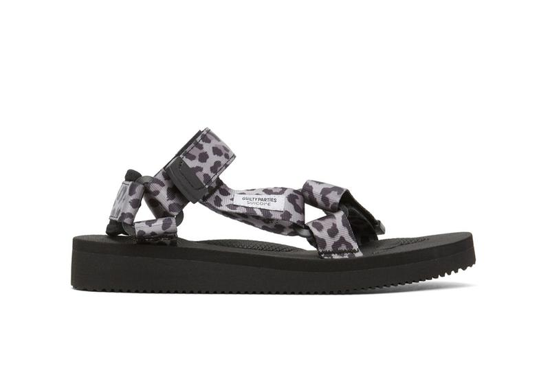 WACKO MARIA x SUICOKE 豹紋聯乘涼鞋上架