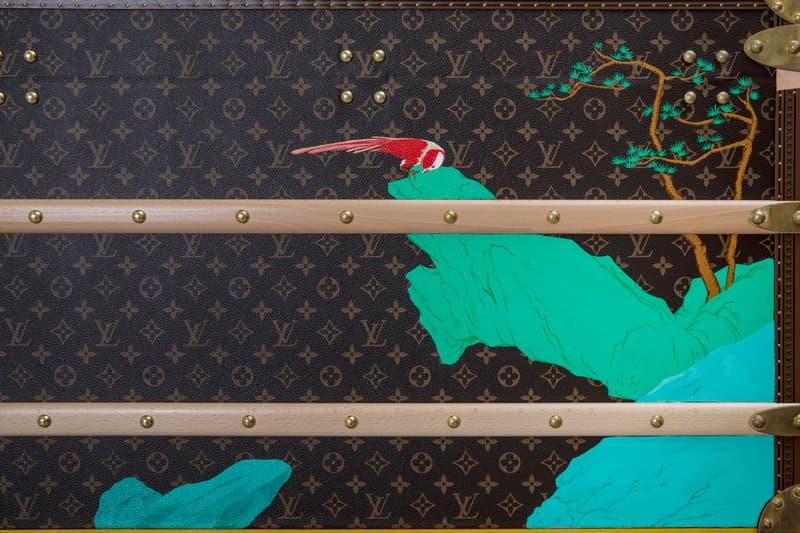视觉艺术家林子楠以 MALLE COURRIER 110打造全新手绘作品