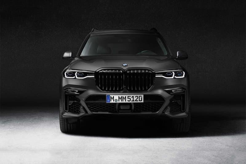 BMW X7 全新 2021 年式樣「Dark Shadow Edition」發佈