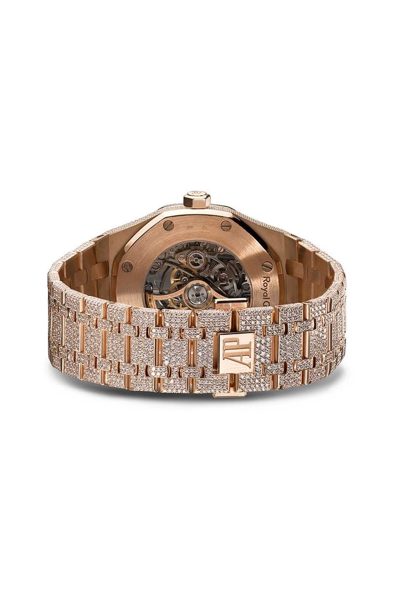 777 全新 18K 玫瑰金 Audemars Piguet Royal Oak Skeleton 定製腕錶上架