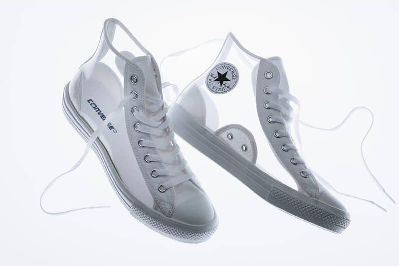 Converse 推出透明材質 All Star Light Clearmaterial Hi 鞋款