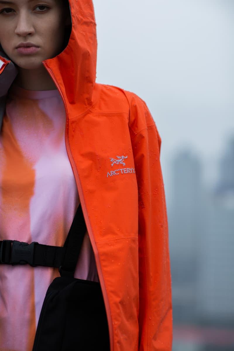 防雨也要有型,ARC'TERYX 呈现「黄梅天」造型指南