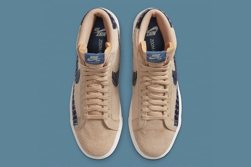 Nike SB Blazer Mid「Sashiko」日本傳統工藝概念款式即將登場
