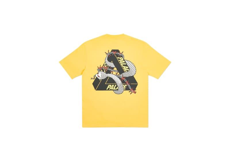 Palace Skateboards 推出 2020 夏季全新 T-Shirt 系列