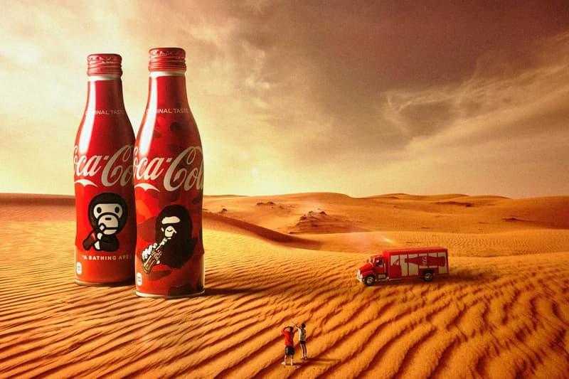 A BATHING APE® × Coca-Cola 最新聯乘預告發佈