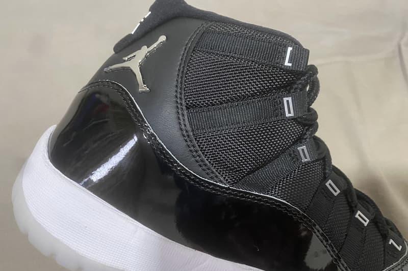 Air Jordan 11 25 週年紀念鞋款高清近賞圖輯率先曝光