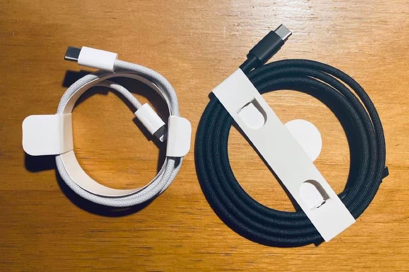 Apple iPhone 12 與 Mac Pro 全新 Lightning 轉 USB-C 編織充電線曝光