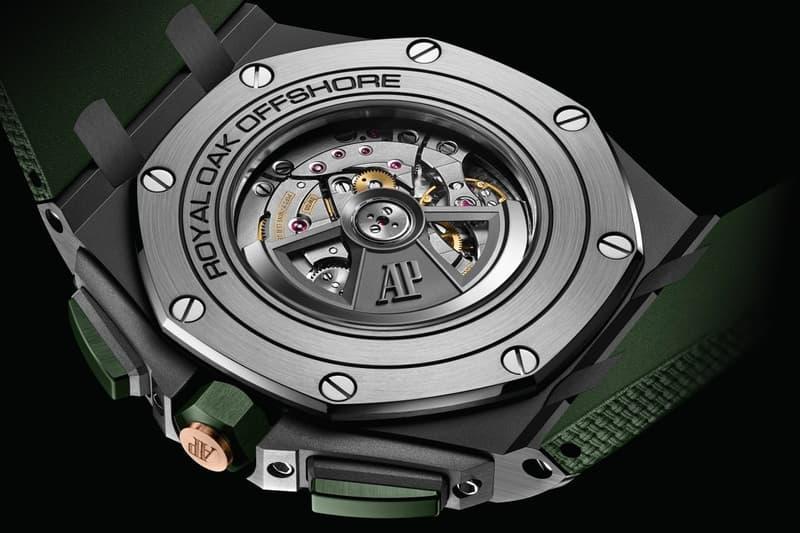 Audemars Piguet 發表全新 Royal Oak Offshore Selfwinding Chronograph 配色設計