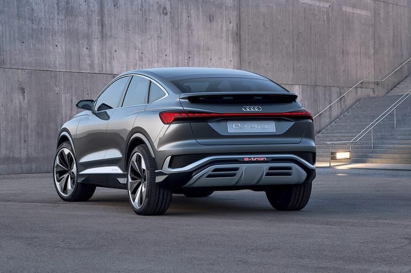 Audi 全新電能車 Q4 Sportback e-tron Concept 發佈