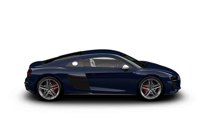 Audi 發表停產前最終限量入門級 R8 V10 Quattro 別注車款