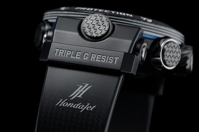 Casio G-Shock x HondaJet 全新聯乘 GWR-B1000HJ 腕錶發佈