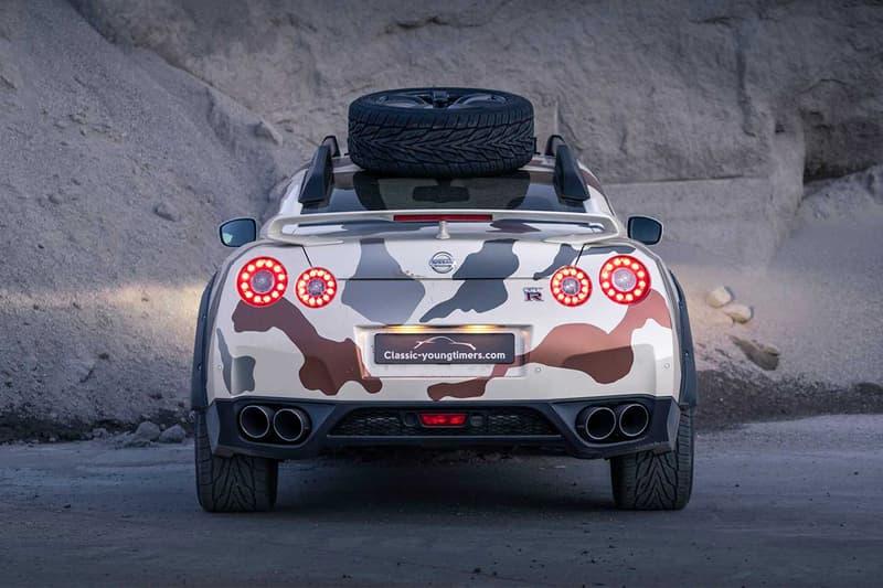 荷蘭車商打造 Nissan GT-R 越野改裝版本