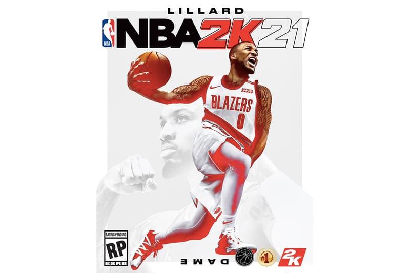 Damian Lillard 成為《NBA 2K21》最新封面人物