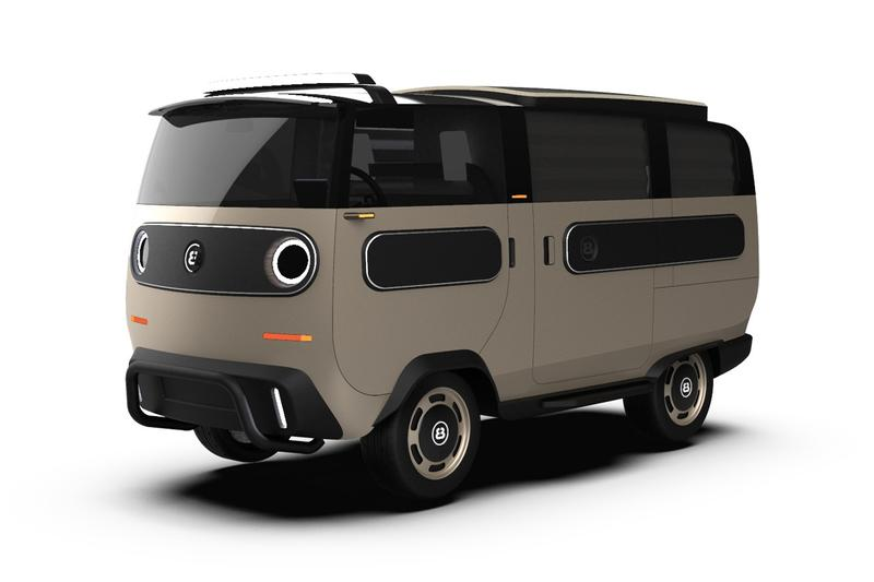 ElectricBrands 推出可變換多達 10 種車型之電能車款 eBussy