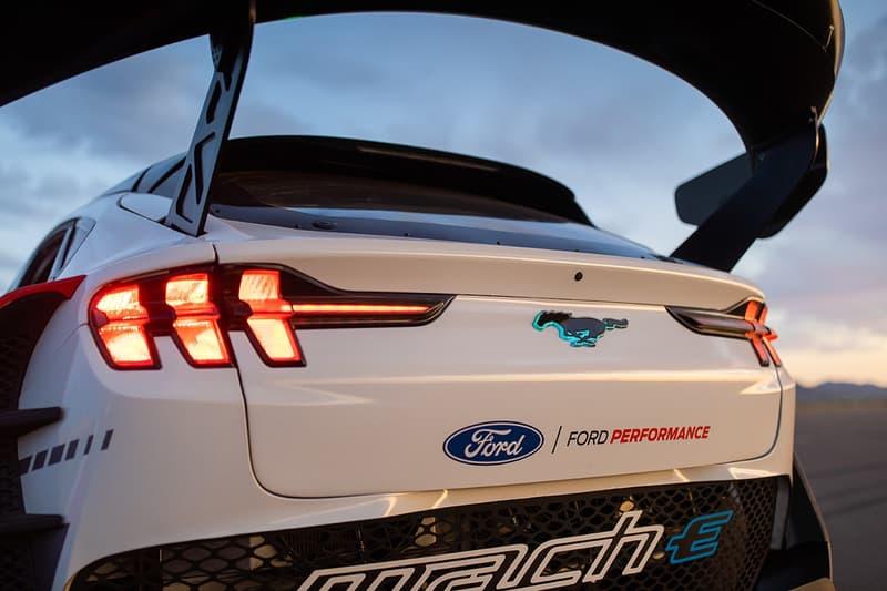 Ford 打造 1,400 匹馬力電能 Mustang MACH-E 原型車