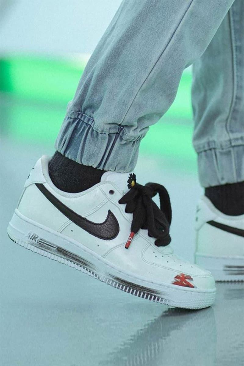 PEACEMINUSONE x Nike Air Force 1 全新聯名白色鞋款上腳圖輯曝光
