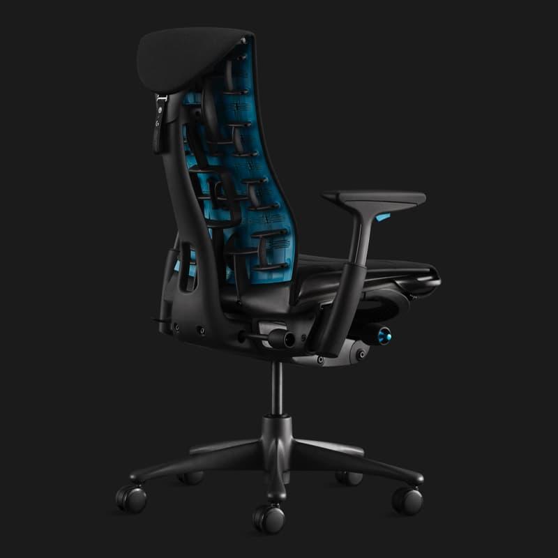 Herman Miller x Logitech G 全新 Embody 电竞座椅正式登场