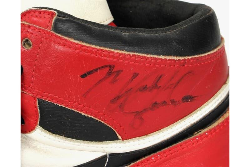 1986 年特殊改裝 Air Jordan 1 以再次出現拍賣