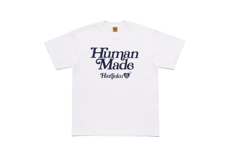 HUMAN MADE x Girls Don't Cry 全新聯乘 T-Shirt 系列發佈