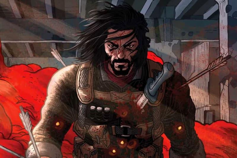 人氣影星 Keanu Reeves 即將推出全新個人創作漫畫系列《BRZRKR》