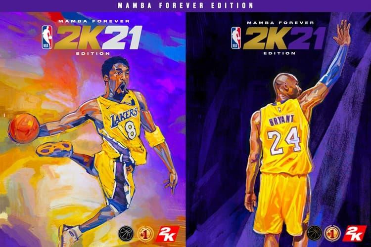 已逝傳奇球星 Kobe Bryant 成為《NBA 2K21》封面人物