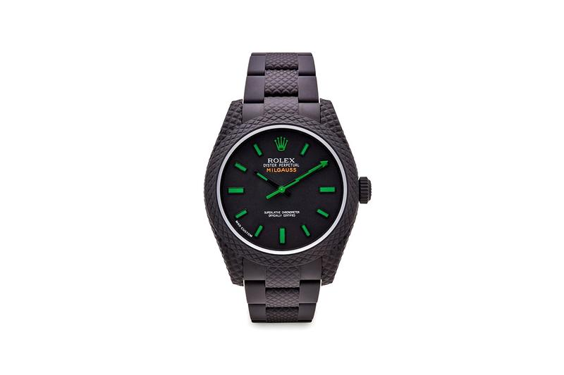 MAD Paris 打造 Rolex Milgauss 和 Datejust 全新定製腕錶