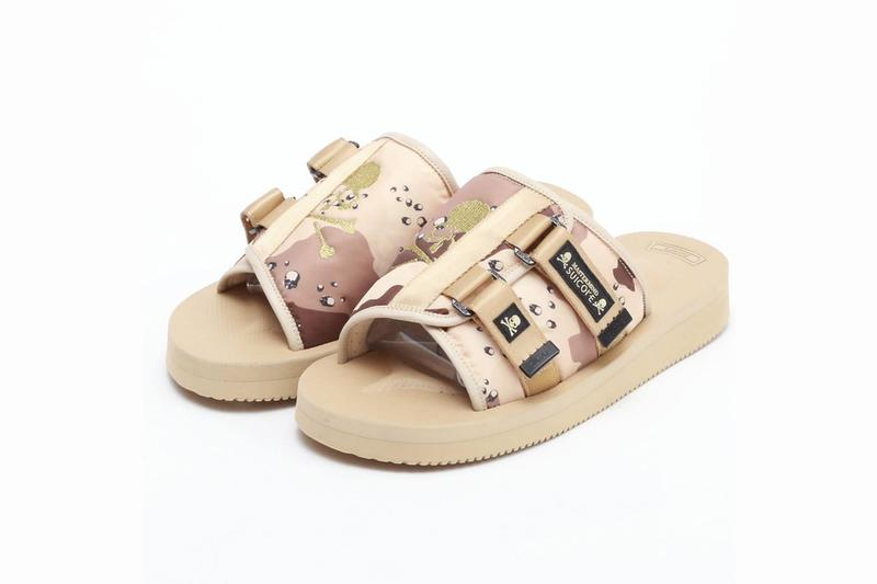 mastermind JAPAN x SUICOKE 再度聯手推出別注迷彩 KAW-VS 涼鞋
