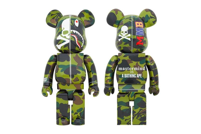 Medicom Toy x mastermind JAPAN x A BATHING APE®聯乘「Green Camo」BE@RBRICK 發佈